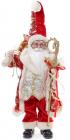 """Новогодняя игрушка """"Санта с посохом"""" 46см, красный"""