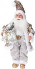 """Фігура """"Санта з срібним мішком"""" 46см"""