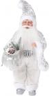 """Фігура """"Санта в сріблі"""" 46см"""