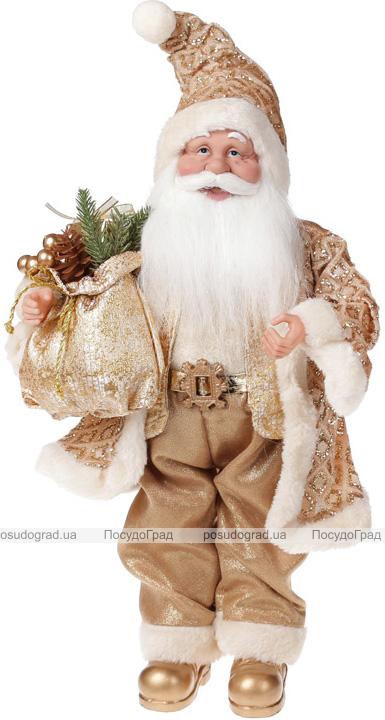 """Фигура """"Санта в золоте"""" 46см"""