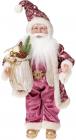 """Фігура """"Санта з бежевим мішком"""" 46см"""