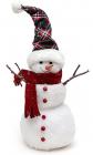 """Новогодняя декоративная игрушка под елку """"Снеговик"""" 23см"""