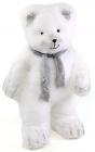 """Новогодняя декоративная игрушка под елку """"Медведь в шарфике"""" 53см"""