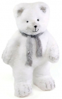 """Новорічна декоративна іграшка під ялинку """"Ведмідь в шарфику"""" 53см"""