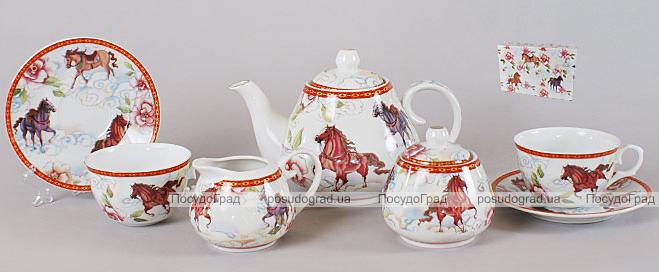 Чайный сервиз Horse Light 15 предметов