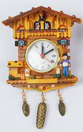 """Часы настенные """"Таверна"""", 12.8x4.5x14.7см"""