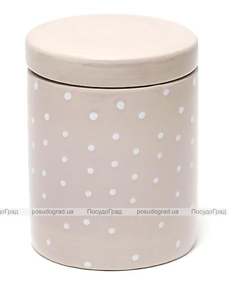 Банка Country Kitchen Cream для сыпучих продуктов 500мл круглая