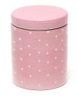 Банка Country Kitchen Pink для сыпучих продуктов 500мл круглая