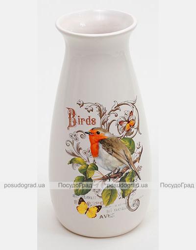 """Ваза """"Birds Garden"""" 21см"""