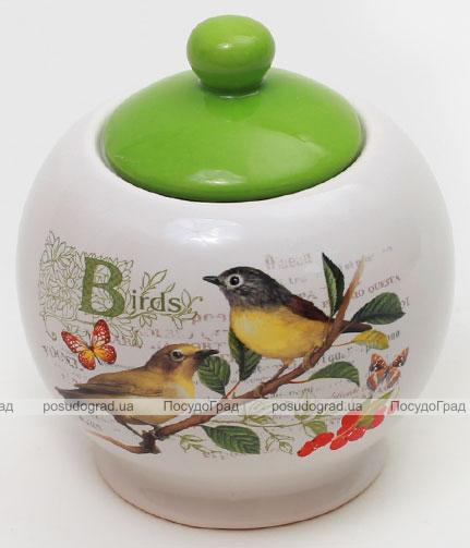 "Сахарница ""Birds Garden"" 400мл с крышкой"