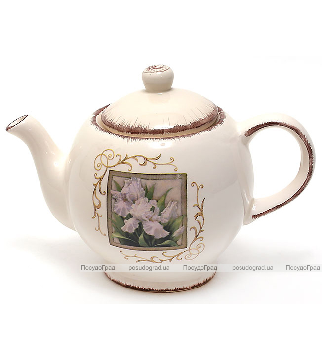 """Чайник заварочный """"Розовый ирис"""" 950мл"""