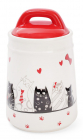 """Банка керамічна """"I Love My Cat"""" 525мл для сипучих продуктів"""