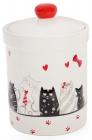 """Банка керамическая """"I Love My Cat"""" 950мл для сыпучих продуктов"""