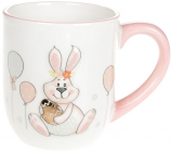 """Кружка керамічна """"Веселий кролик"""" 500мл"""