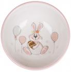"""Піала керамічна """"Веселий кролик"""" з золотим яйцем 280мл"""