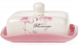 "Масленка ""Розовый Фламинго"" 18х13.5х8.2см"