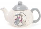 """Чайник заварочный """"Влюбленные коты"""" 790мл, керамический"""