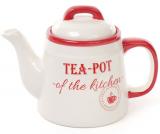 Чайник заварочный Red&Blue TEA-POT 1л красный керамический