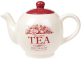 """Чайник заварочный """"Английский Шиповник TEA"""" 1000мл, керамический"""