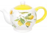 """Чайник заварочный """"Цитрусовое наслаждение"""" 1000мл, керамический"""