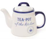 Чайник заварочный Red&Blue TEA-POT 1л синий керамический