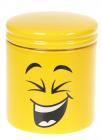 """Банка керамічна """"Funny Smile"""" 550мл, кришка з ущільнювачем"""