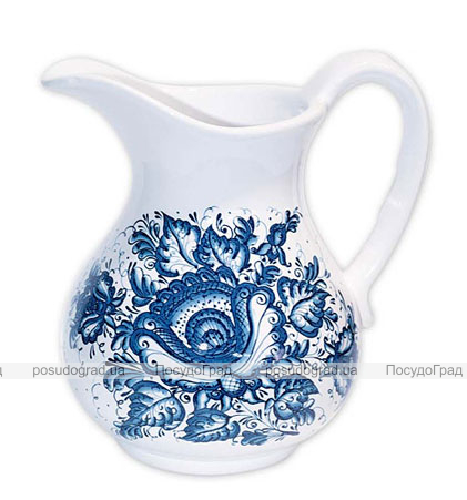 """Кувшин """"Синий Цветок"""" 800мл"""