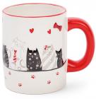 """Кружка керамическая """"I Love My Cat"""" 350мл"""
