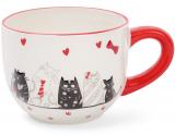 """Кружка керамическая """"I Love My Cat"""" 500мл"""