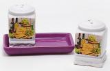 Набор для специй Cheese&Wine соль и перец на керамической подставке