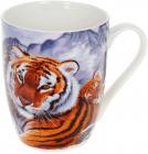 """Кружка порцелянова """"Тигр з Тигреням"""" 380мл, кольоровий"""