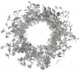 Декоративный венок «Серебро» Ø70см, полиэстер