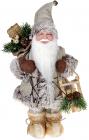 """Декоративная фигура """"Санта с саночками"""" 30см, бежевый"""