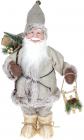 """Мягкая игрушка """"Веселый Санта с подарками"""" 45см, бежевый"""