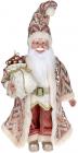 """Декоративна фігура """"Санта з мішком"""" 45см, рожевий"""