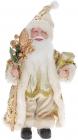 """М'яка іграшка """"Санта з посохом"""" 30см, золотий"""