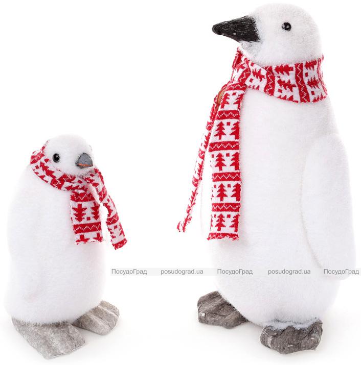 "Фигура декоративная ""Пингвин в шарфике"" 16х16х26см"