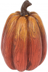 Декоративна статуетка «Гарбуз» 11х11х16см, помаранчево-коричневий