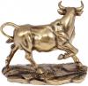 Декоративная статуэтка «Бык» 22.2х11х18см, полистоун, латунь
