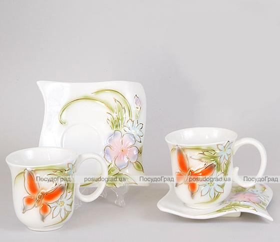 Чайный набор Bright 3D-118 220мл 12 предметов