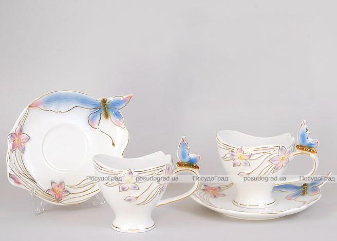 Чайный набор Bright 3D-119 200мл 12 предметов