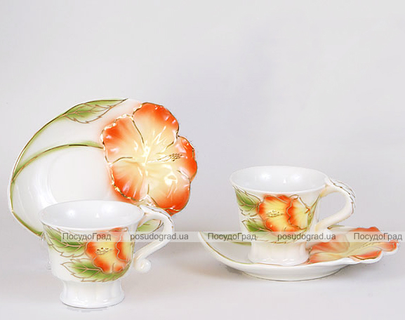 Чайный набор Bright 3D-120 200мл 12 предметов