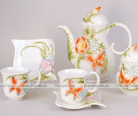 Чайный сервиз Bright 3D-121 15 предметов
