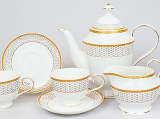 Чайный сервиз Princess Gold-130 15 предметов