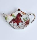 """Підставка """"Horse Light"""" керамічне блюдце для чайного пакетика"""
