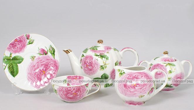 Чайный сервиз Bona Peony 15 предметов