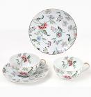 """Чайний набір """"Альпійський сад"""" 2 чашки 250мл і 2 блюдця"""