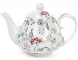 """Заварочный фарфоровый чайник """"Альпийский сад"""" 1000мл"""