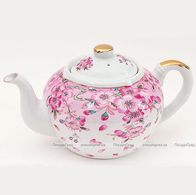 """Чайник заварочный """"Яблоневый цвет"""" 1000мл"""