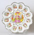 Блюдо Пасхальное Ангелочек Ø22см 12 яиц и Пасха